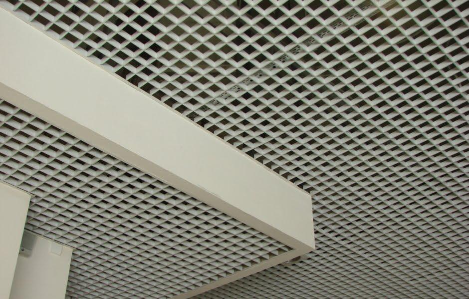 Растровые потолки, потолок грильято