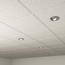 внешний вид потолков из минерального волокна