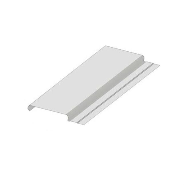 Реечный потолок закрытого типа A84 AС рейка белая матовая