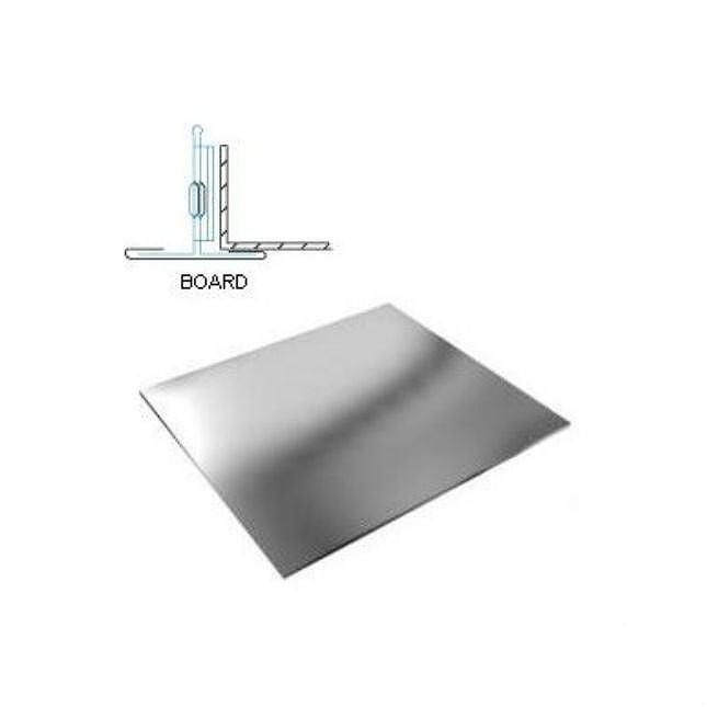 Кассетный потолок матовый белый эконом кромка Board